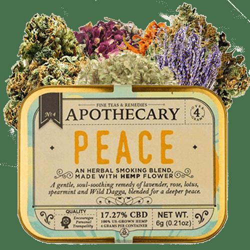 Fleur de Paix-CBD-fumeur