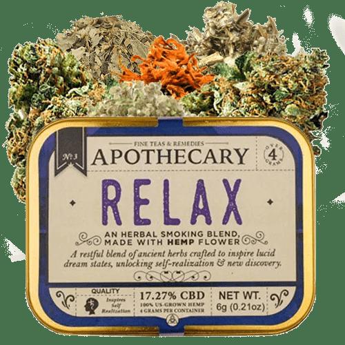 Relax-CBD-Smoking-Flower - Brothers Apothecary